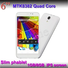 960*540 IPS Screen 6 Inch Android Tablet PC Inbuild 3G+GPS+Bluetooth Quad Core 3G Phablet