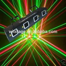 Professional 4 eyes mini laser show system