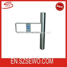Supermarket Pedestrian Access Control High Security Swing Barrier Gate Systems