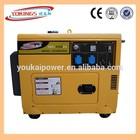 2-10KVA air cooled generator prices manufacture silent 5KVA diesel generator