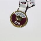 wholesale fancy design custom metal souvenir medal case with high quality