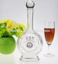 Superior White 500ml mojito glass spirit bottle