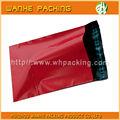 Gros sac de magasinage en ligne personnalisé mailer poly sacs d'emballage/haute qualité chinois enveloppes rouges