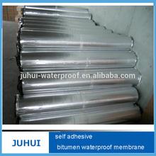 1.2-2.0mm aluminium membrane asphalt adhesive tape/asphalt rolls for roofing