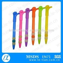 LT-P243 Wholesale Cheap Favourable Price Promotional Gesture Plastic Ballpoint Pen