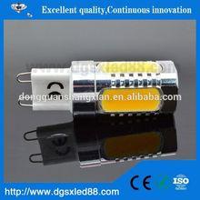 high luminous 0.799 12V DC 3014smd silicone G4 led light bulb small size