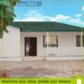 Estrutura de aço leve PVC casa pré-fabricada preço para venda