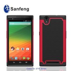 Factory Price Metro PCS Wholesale Accessories 5.7 inch Mobile Phone Case for ZTE Zmax Case