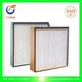 industrial filtro de aire hepa