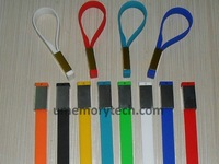 wholsale Promotional Gifts silicone chain usb flash drive