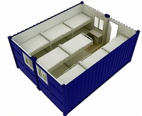 the latest design sandwich panel container hotel
