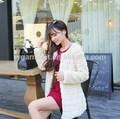 Superior calidad de las señoras abrigo de piel sintética, ropa de mujer 2015