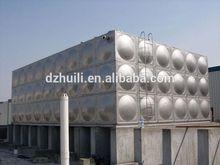 square stainless steel water tank/5000 liter water tank