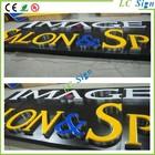 Custom Store Advertising Vacuum Forming 3D Acrylic Letter Signage / Luminated LED light Letter Signage
