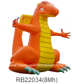 outdoor Giant inflatable dragon model for advertising event