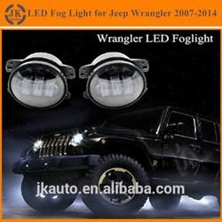 Factory Direct Wholesale High Quality LED Fog Light for Jeep Wrangler Super Bright LED Foglight for Jeep Wrangler 2007-2010