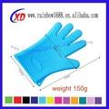 Silicone compressas quentes luvas, silicone luvas de dedo, luvas de silicone fermento