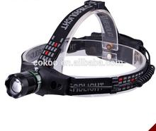 new type led headlamp / headlamp led night / high lumens led headlamp flashlight for camping
