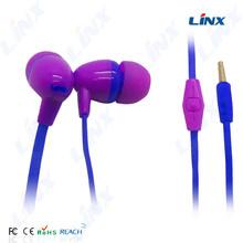 China factory china wholesale earphone with microphone cute anime in-ear headphone