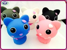 2015 Newest Design Plastic Cute Shaking Head Cat Car Decoration Furnishing Articles