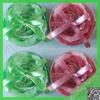 Rose designs bath soap Organic Hand Made Face Soap