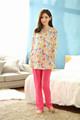 Ojo - captura transpirable de algodón Homewear venta al por mayor de enfermería pijamas en pijama de fábrica 155036