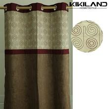 2015 Kikiland latest design factory wholesale window curtain from china