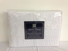 Polyester lace bed sheet set