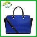 euro nome de marca bolsas das senhoras do couro genuíno bolsa azul bolsasdecouro