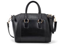 Free ship New Fashion women handbag brief crocodile pattern shoulder bags women messenger bags women leather handbags bag