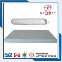 very cheap roll pacing single size hard foam mattress from china