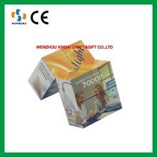 Custom printed plastic cube,puzzle cube,cube puzzle