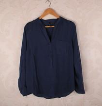 HIJ-14-LB-11-008 Woman pure cotton shirts, energy-saving
