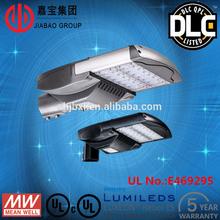 UL DLC TUV 5 years warranty Modular designed solar led street lights 65w aluminum alloy housing