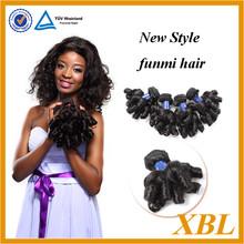 Guangzhou XBL hair China hair supplier,virgin Peruvian funmi hair extension,fashion black women hair