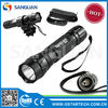 blue led hunting flashlight, scope mounted light powerful SG-501B