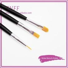 china brush Personalized top quality cosmetic makeup brush flat brush nylon