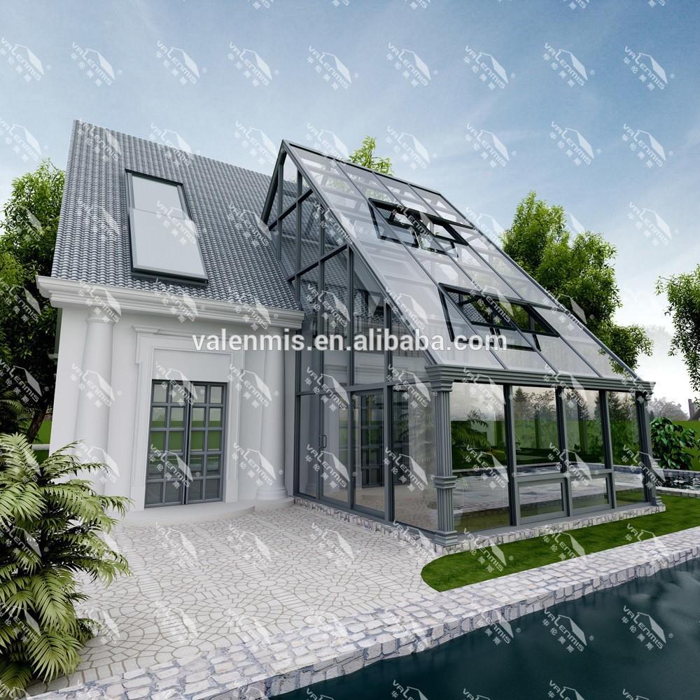 알루미늄 겨울 정원 야외 유리 태양 룸-일광욕실 & 유리 하우스 ...