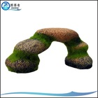Decorative Aquarium Polyresin Ornament Moss Rocks RF-146C
