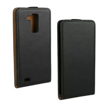 Up and Down Vertical Flip Genuine Leather Case for Huawei Mate 7