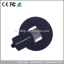 bulk mini silicon/pvc PMS color 8g customized logo 2.0 thumb usb