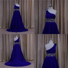 cathedral/ royal train deep red prom dresses