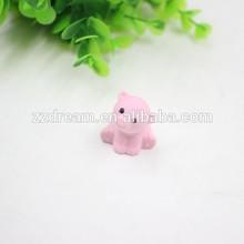 Hot sale bear shape eraser cartoon animal school rubber eraser pink rubber eraser