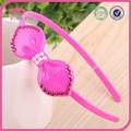 Oem& odm miúdos acessórios de cabelo headband bow