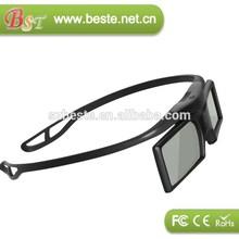 GOOD quality 3d glass dlp,3d glasses active