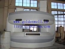Anti-corrosion durable GRP medical apparatus casings