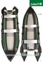 Inflatable Motor Plastic Canoe