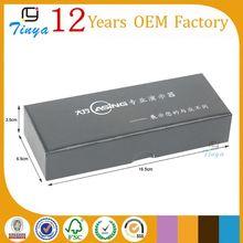 black electronic gift wrap box for pen