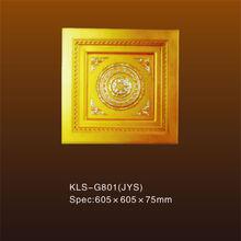 resistencia a la capa de ozono de poliuretano g801 de yeso del techo medallón de cerámica