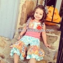 2015 Hot selling Fashion Girls Spring Clothing Sets Latest Design Kids summer Sets Gorgeous Spring Sets
